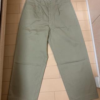 コモリ(COMOLI)のAURALEE WASHED FINX CHINO TAPERED PANTS(チノパン)