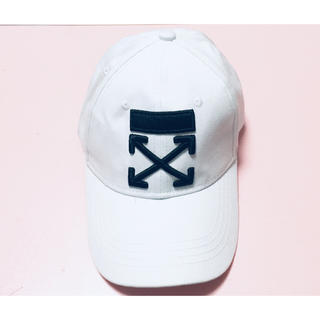 オフホワイト(OFF-WHITE)のOFF WHITE 帽子 キャンプ(キャップ)