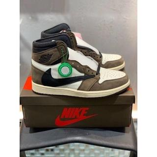 NIKE AIR JORDAN 1 TRAVIS SCOTT 27cm(スニーカー)