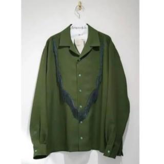 TOGA - TOGA ウエスタンフリンジシャツ