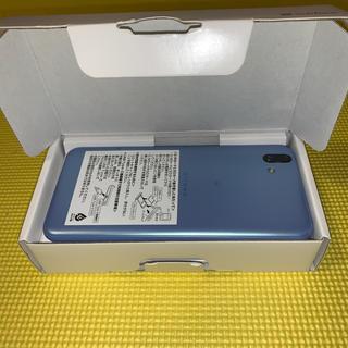 フジツウ(富士通)の値下可 ロック解除済arrows U ブルー 32 GB Softbank 2(スマートフォン本体)