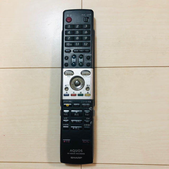 SHARP(シャープ)のSHARP ブルーレイディスクレコーダー BD-W560 スマホ/家電/カメラのテレビ/映像機器(ブルーレイレコーダー)の商品写真