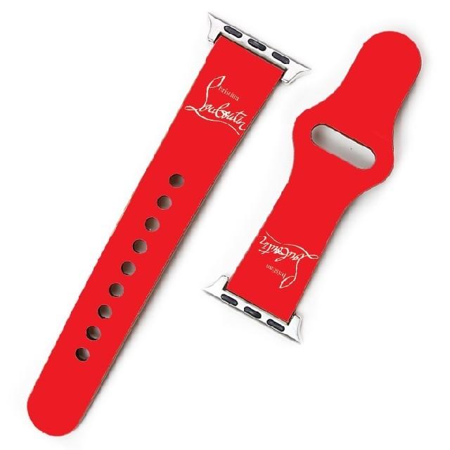 Christian Louboutin(クリスチャンルブタン)のApple Watch バンド ベルト クリスチャンルブタン i248 メンズの時計(レザーベルト)の商品写真