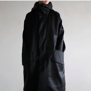 コモリ(COMOLI)の値下げ!SOUMO Big pocket hood coat(ロングコート)