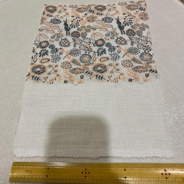 mina perhonen(ミナペルホネン)のミナペルホネン セレブレイト   ハギレ ハンドメイドの素材/材料(生地/糸)の商品写真