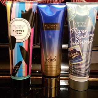 ヴィクトリアズシークレット(Victoria's Secret)の3本セット(ボディローション/ミルク)
