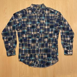 ウエアハウス(WAREHOUSE)のwarehouse ウエアハウス パッチワークシャツ ボタンダウン(シャツ)