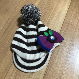 グラグラ(GrandGround)の美品 グラグラ   ニット帽 size.F(52cm位)(帽子)