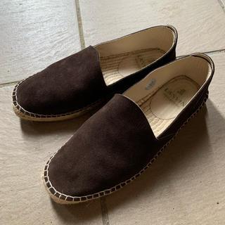ランバン(LANVIN)のランバン スエード ローファー(ローファー/革靴)