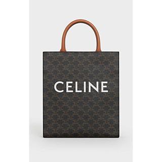 セリーヌ(celine)のceline セリーヌ スモールバーティカルカバ トリオンフキャンバス(トートバッグ)