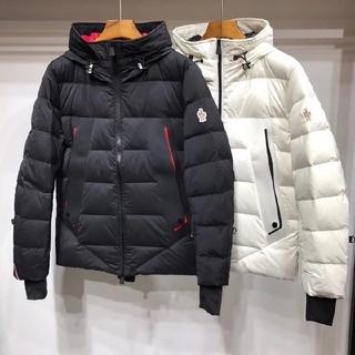 MONCLER - モンクレール ダウンジャケット黒OR白