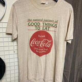 コカコーラ(コカ・コーラ)のコカコーラ Tシャツ Lサイズ(Tシャツ/カットソー(半袖/袖なし))