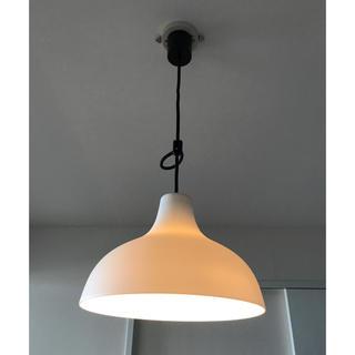 ムジルシリョウヒン(MUJI (無印良品))の無印良品 白磁 ペンダントライト Lサイズ 直径285×高さ200(天井照明)