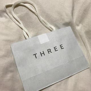 スリー(THREE)のThreeショッパー(ショップ袋)