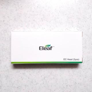 イーリーフ(Eleaf)のEleaf EC head 0.5Ω 5 pcs 1箱(タバコグッズ)