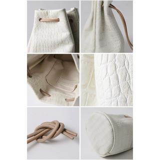 BEAUTY&YOUTH UNITED ARROWS - MORMYRUS モルミルス レザー 巾着 ショルダーバッグ