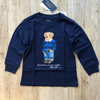 Ralph Lauren - 新着★最新作 ポロベア  ロンT ネイビー 長袖Tシャツ