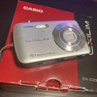 カシオ(CASIO)のCASIO EXILIM EX-Z33 SR SDカード2GB付き(コンパクトデジタルカメラ)
