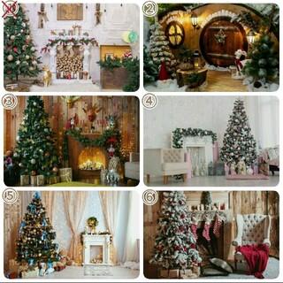 背景布 【 クリスマスM 】 サンプル ニューボーンフォトなどに♪