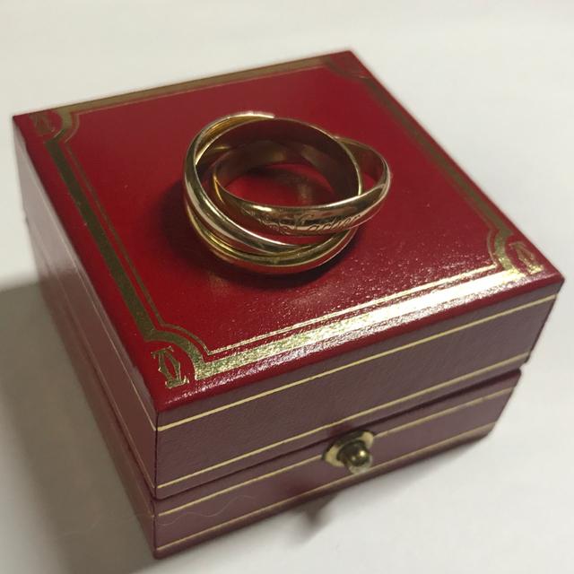 Cartier(カルティエ)の★最終値下げです★カルティエリング トリニティリング レディースのアクセサリー(リング(指輪))の商品写真
