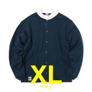 チャムス(CHUMS)のXLサイズ【新品】フルスナップハリケーントップ スウェット CHUMS チャムス(スウェット)