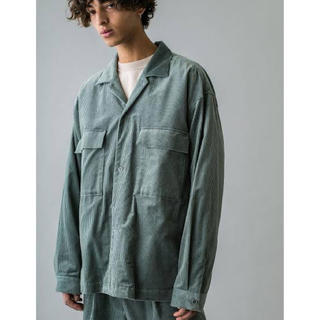 BEAUTY&YOUTH UNITED ARROWS - monkey time 7WALE SOFT CORD CPO SHIRT S