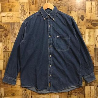 Timberland - ティンバーランド デニムシャツ 長袖シャツ デニムジャケット ボタンダウンシャツ