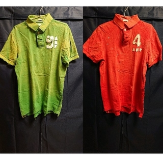 アバクロンビーアンドフィッチ(Abercrombie&Fitch)の【Abercrombie&Fitch】ポロシャツ 2枚セット(ポロシャツ)