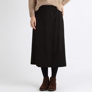 STUDIO CLIP - studioCLIP フェイクスエードAラインスカート ラップスカート