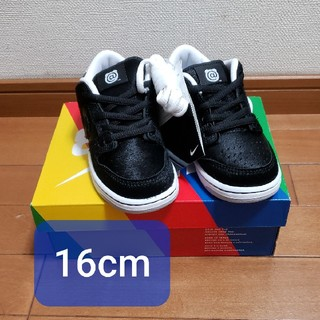 NIKE - NIKE SB DUNK LOW BE@RBRICK KIDS 16cm