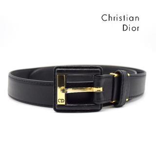 クリスチャンディオール(Christian Dior)の《一点物》Christian Dior ベルト ブラック ヴィンテージ  特殊(ベルト)
