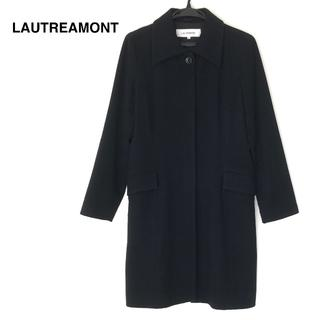 ロートレアモン(LAUTREAMONT)の【お値下げ】LAUTREAMONT ステンカラー ウールコート/2/ブラック(その他)