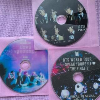 ボウダンショウネンダン(防弾少年団(BTS))のBTSお得3枚setラブユアー&SPEAK&MAP高画質(ミュージック)