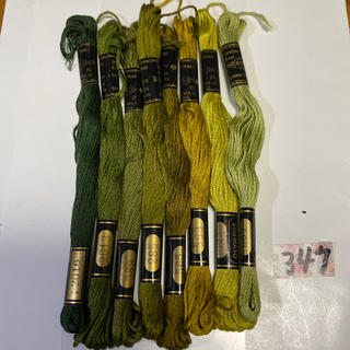 オリンパス(OLYMPUS)のオリムパス刺繍糸347(生地/糸)