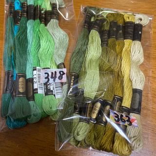 オリンパス(OLYMPUS)のオリムパス刺繍糸 348(生地/糸)