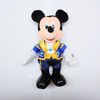 Disney - ディズニー 31周年 美女と野獣 新エリア ぬいぐるみバッジ ミッキー