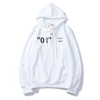OFF-WHITE - OFF-WHITE パーカー 1男女兼用 ZOF130-1