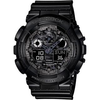 ジーショック(G-SHOCK)のカシオ G-SHOCK 耐磁 カモフラージュダイアルシリーズ 腕時計 ブラック(腕時計(アナログ))
