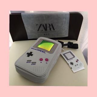 ニンテンドウ(任天堂)のNintendo 公式 ZARA ゲームボーイ型 クロスベルトバッグ ウエスト(ボディーバッグ)