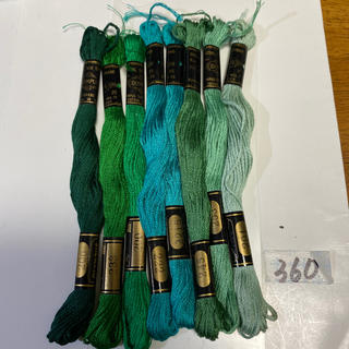 オリンパス(OLYMPUS)のオリムパス刺繍糸 360(生地/糸)