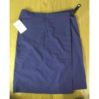 モンベル(mont bell)のモンベル mont-bell 新品 ストレッチ O.D. スカート Lサイズ(ひざ丈スカート)