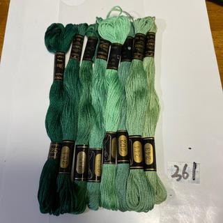 オリンパス(OLYMPUS)のオリムパス刺繍糸361(生地/糸)