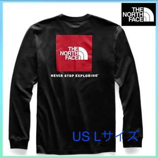 THE NORTH FACE - 【新品タグ付き】01 ノースフェイス メンズ ロンT  ブラック ボックスロゴ