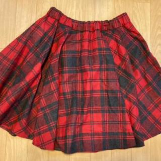 オニール(O'NEILL)のO'NEIL OF DUBLIN ウール素材 チェックひざ丈スカート♡(ひざ丈スカート)