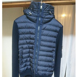 MONCLER - 10月29日限定値下げ モンクレール ニットダウンパーカー MAGLIONE