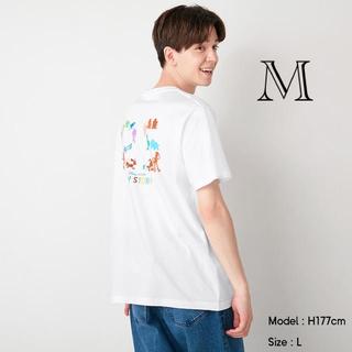 トイストーリー(トイ・ストーリー)のGU/ジーユー グラフィックT PIXAR トイストーリー ホワイト 白 M(Tシャツ/カットソー(半袖/袖なし))
