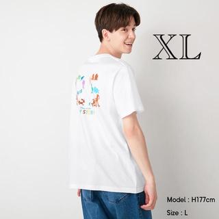 トイストーリー(トイ・ストーリー)のGU/ジーユー グラフィックT PIXAR トイストーリー ホワイト 白 XL(Tシャツ/カットソー(半袖/袖なし))