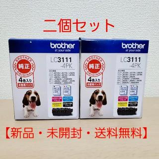 ブラザー(brother)の【新品未開封】LC3111-4PK ブラザー 純正 インクカートリッジ 4色(PC周辺機器)