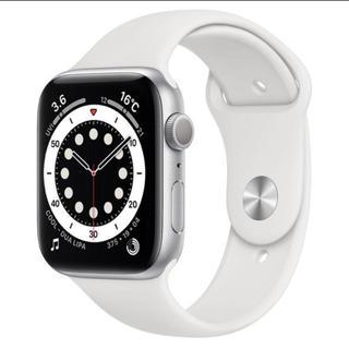 Apple Watch - 新品 Apple Watch Series 6 44mm シルバーアルミニウム