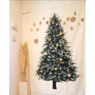クリスマス タペストリー シンプル お洒落 手軽 アレンジ自在 北欧